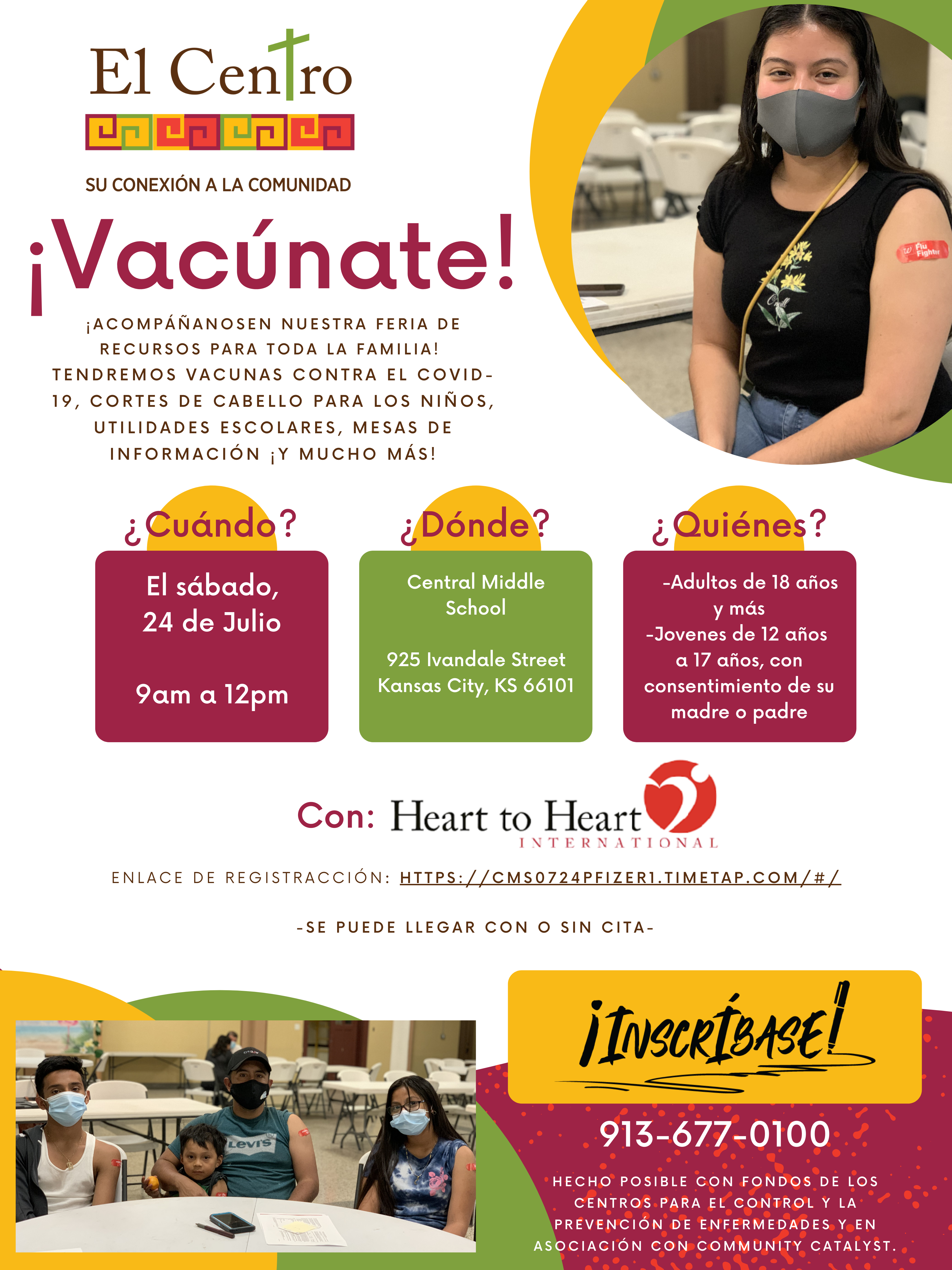 vaccination info in Spanish