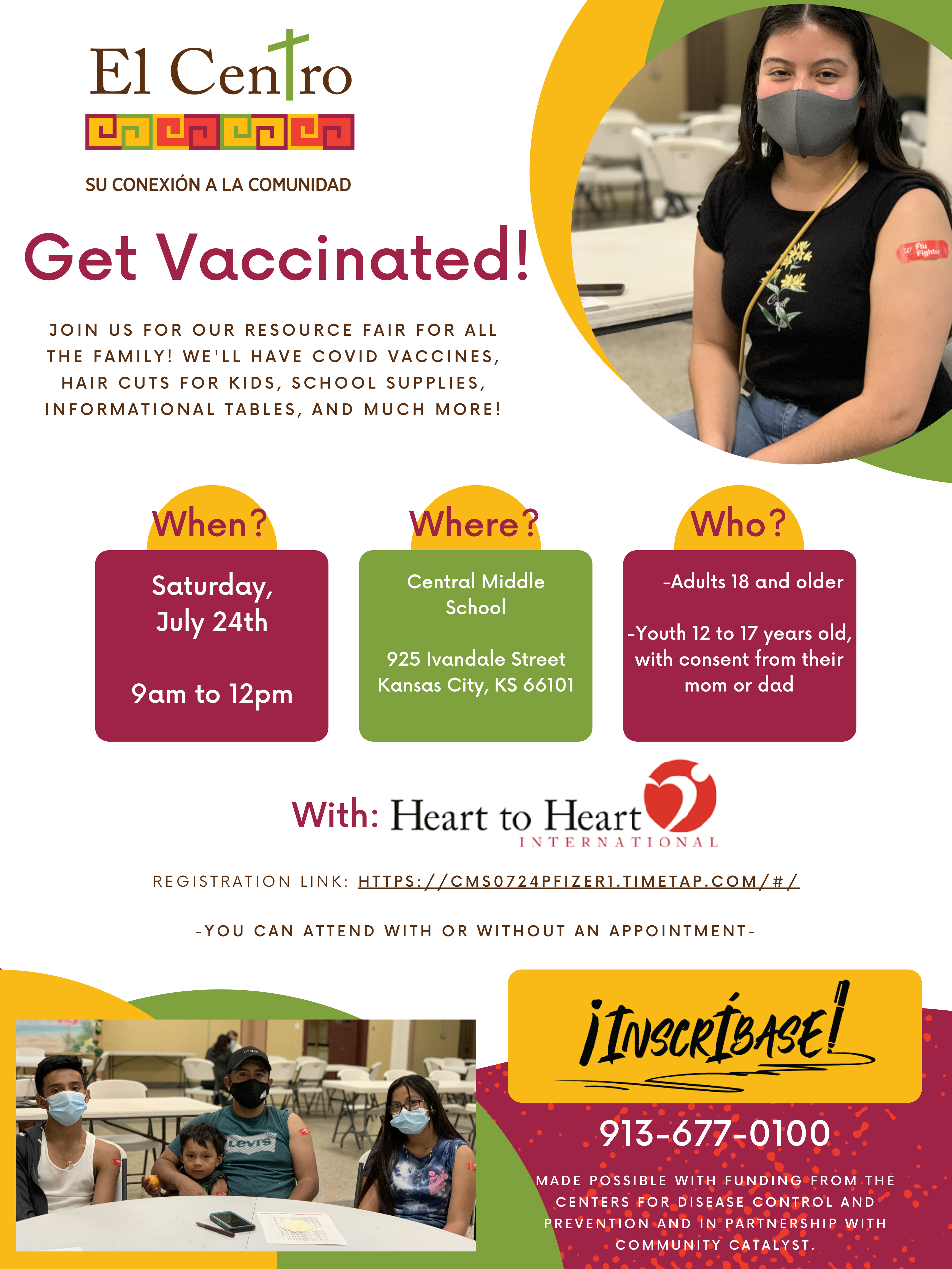Vaccination info